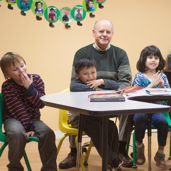 Farnsworth with Kids