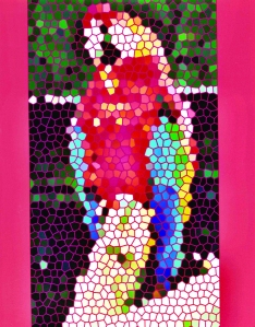 da-parrots-mosaic